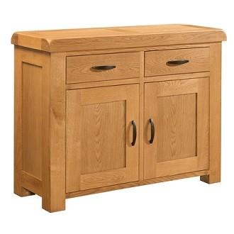 Clover Oak 2 Door 2 Drawer Sideboard