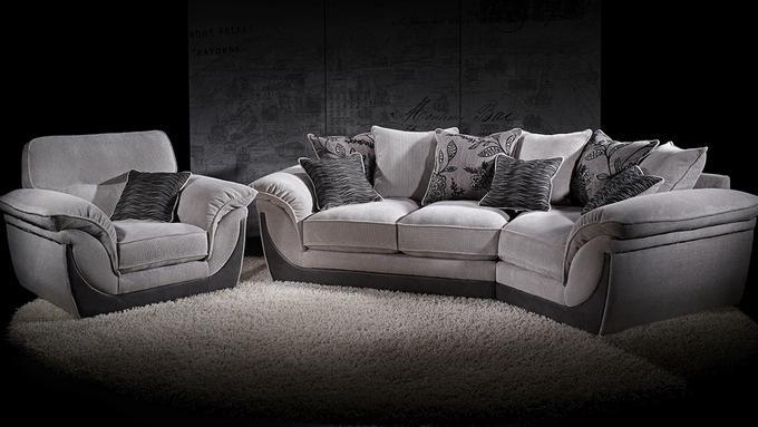 Anya Cosy Corner Sofa Available In Various Fabrics