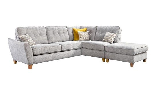 Ashley Large Corner Chaise Sofa (available in various fabrics)