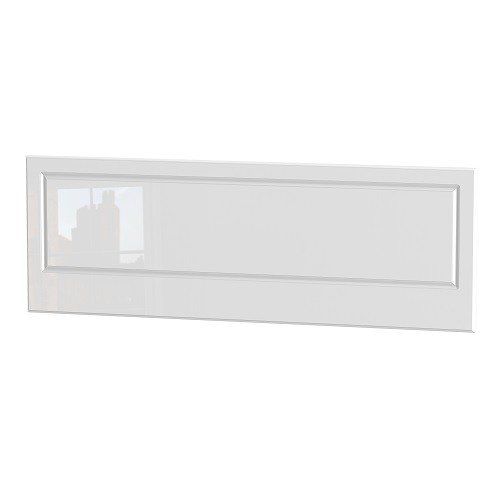 Balmoral King Size 5ft Headboard in White High Gloss