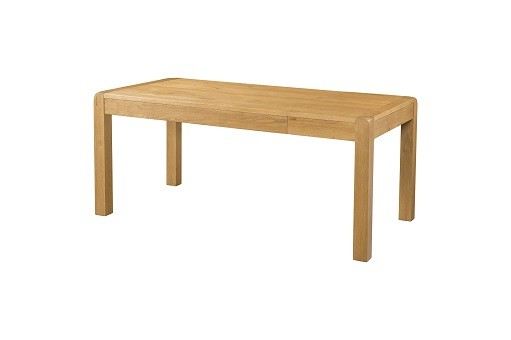 Avondale Waxed Oak End Extension Dining Table 140