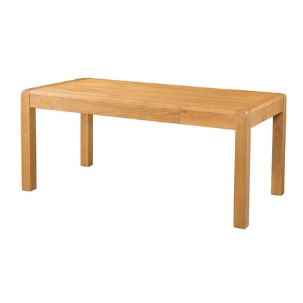 Avondale Waxed Oak End Extension Dining Table 180