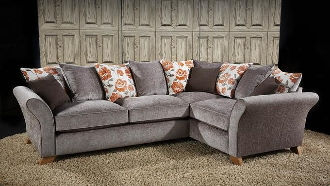Farrah Small Chaise Sofa (available in various fabrics)