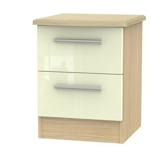 Knightsbridge 2 Drawer Bedside Locker (available in a wide range of colour finishes)