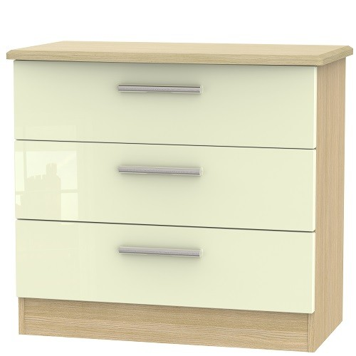 Knightsbridge 3 Drawer Chest (available in a wide range of colour finishes)