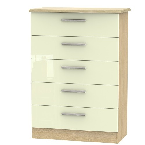 Knightsbridge 5 Drawer Chest (available in a wide range of colour finishes)