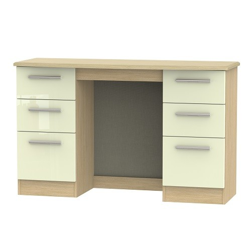 Knightsbridge 6 Drawer Kneehole Dressing Table (available in a wide range of colour finishes)