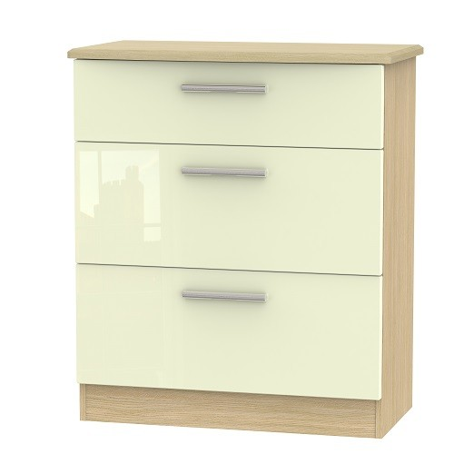 Knightsbridge 3 Drawer Deep Chest (available in a wide range of colour finishes)
