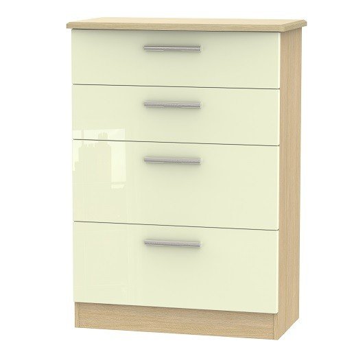 Knightsbridge 4 Drawer Deep Chest (available in a wide range of colour finishes)