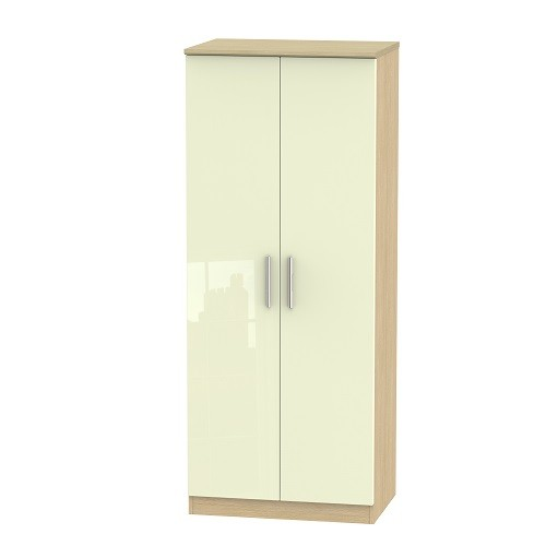 Knightsbridge 2ft 6 Plain Wardrobe (available in a wide range of colour finishes)