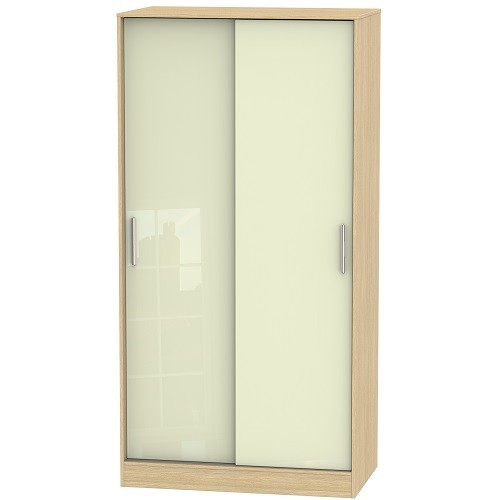 Knightsbridge Tall Sliding Door Wardrobe (available in a wide range of colour finishes)