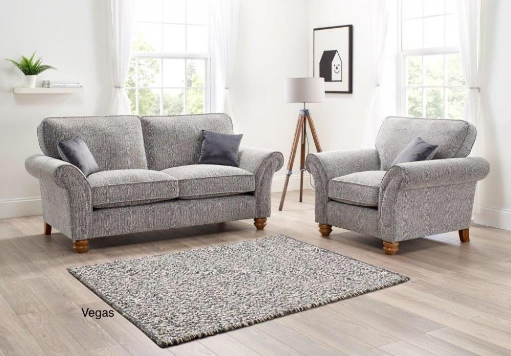 Vegas Armchair in a choice of fabrics