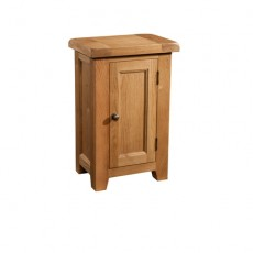 Somerville Light Oak Waxed 1 Door Cabinet