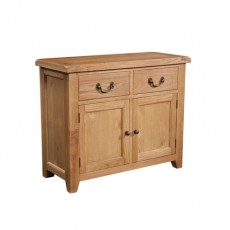 Somerville Light Oak Waxed 2 Door 2 Drawer Sideboard