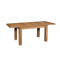 Somerville Light Oak Waxed Extending Dining Table 180