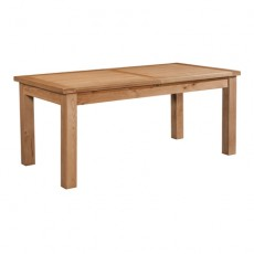 Dorchester Oak Extending Dining Table 180