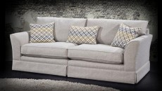 Aleisha 4 Seater Sofa (available in various fabrics)
