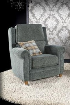 Alina Armchair (available in various fabrics)