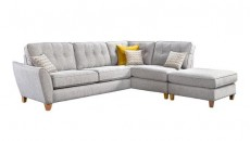 Ashley Large Chaise Sofa (available in various fabrics)