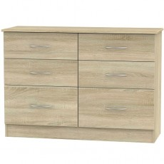 Avon 6 Drawer Midi Chest (available in 4 colour finishes)