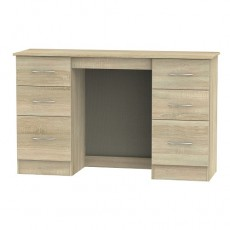 Avon 6 Drawer Kneehole Dressing Table (available in 4 colour finishes)