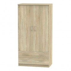Avon 3ft 2 Drawer Wardrobe (available in 4 colour finishes)