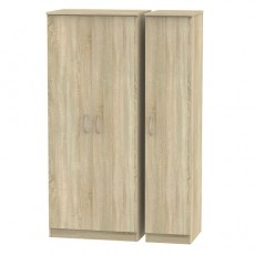Avon Triple Plain Wardrobe (available in 4 colour finishes)