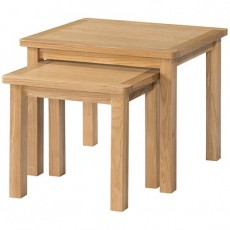 Bedford Light Oak Nest of Tables
