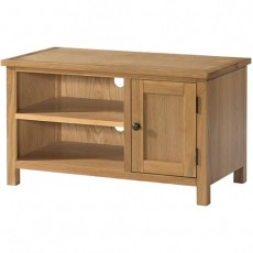 Bedford Light Oak Small TV Unit