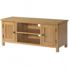 Bedford Light Oak Large TV Unit