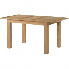 Bedford Light Oak Extending Dining Table 120-155cm