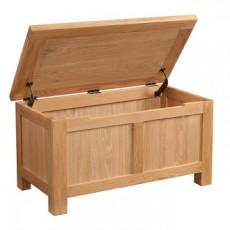 Dorchester Oak Blanket Box