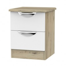 Camden 2 Drawer Bedside Locker (available in a wide range of colour finishes)