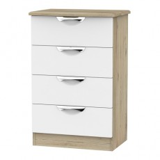 Camden 4 Drawer Midi Chest (available in a wide range of colour finishes)