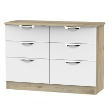 Camden 6 Drawer Midi Chest (available in a wide range of colour finishes)