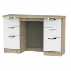Camden 6 Drawer Kneehole Dressing Table (available in a wide range of colour finishes)
