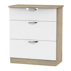 Camden 3 Drawer Deep Chest (available in a wide range of colour finishes)