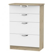 Camden 4 Drawer Deep Chest (available in a wide range of colour finishes)