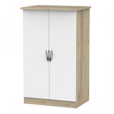 Camden 2ft 6 Plain Midi Wardrobe (available in a wide range of colour finishes)
