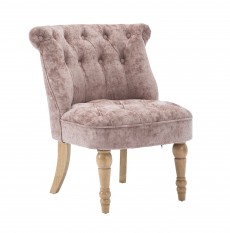 Cotswold Accent Bedroom Chair in Blush