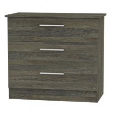 Colorado 3 Drawer Chest (available in 9 colour finishes)