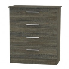 Colorado 4 Drawer Chest (available in 9 colour finishes)