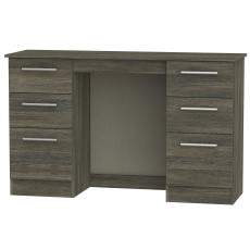 Contrast 6 Drawer Kneehole Dressing Table (available in 9 colour finishes)