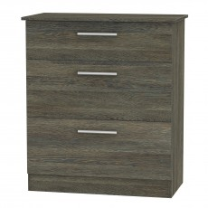Colorado 3 Drawer Deep Chest (available in 9 colour finishes)