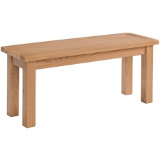Dorchester Oak 104cm Dining Table Bench