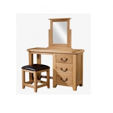 Somerville Light Oak Waxed Dressing Table