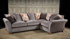 Farrah Large Chaise Sofa (available in various fabrics)