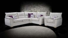 Keaton Large Corner Sofa (available in various fabrics)