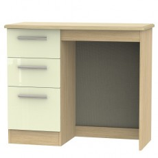 Knightsbridge 3 Drawer Vanity Dressing Table (available in a wide range of colour finishes)