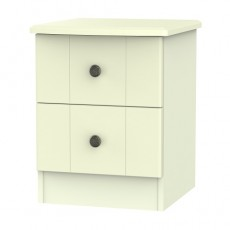 Kingston 2 Drawer Bedside Locker (available in 3 colour finishes)